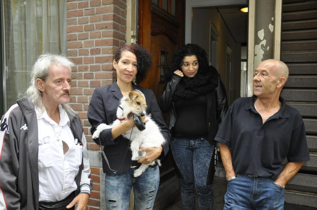 Roland, Deborah, Sevim en Erik