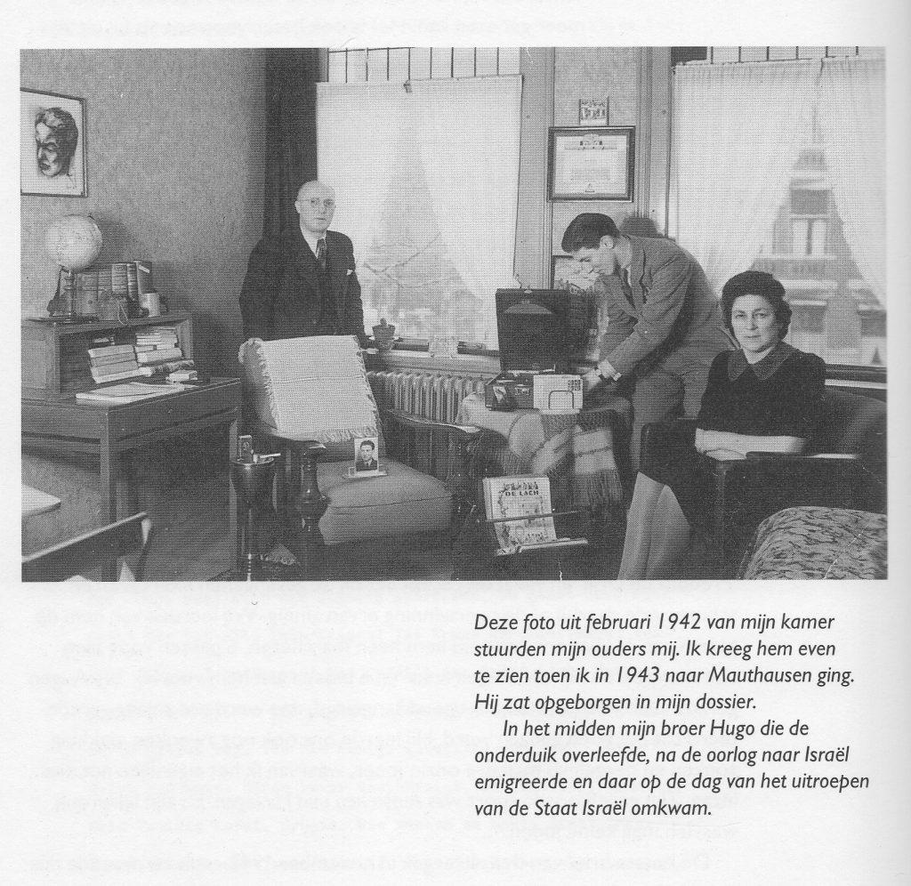 De kamer van Bill op nr. 78A