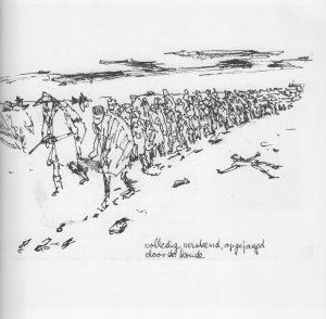 De mars uit Auschwitz