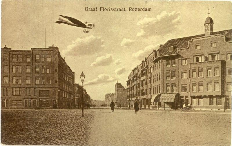 Vanaf de Beukelsdijk, ± 1925
