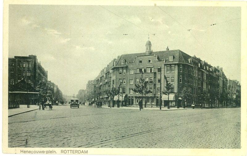 Vanaf de Beukelsdijk, ± 1930