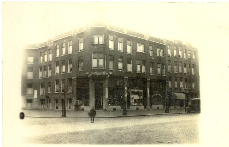 Winkel op de hoek Jan van Avennestraat, ± 1927