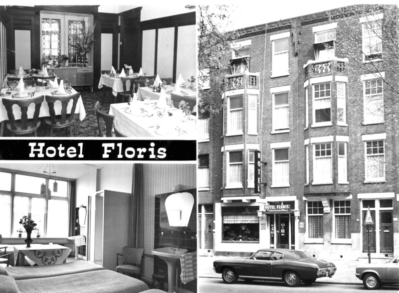 Hotel Floris, maart 1974