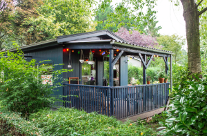 Vet luxe tuinhuis