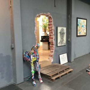 Doorgang atelier