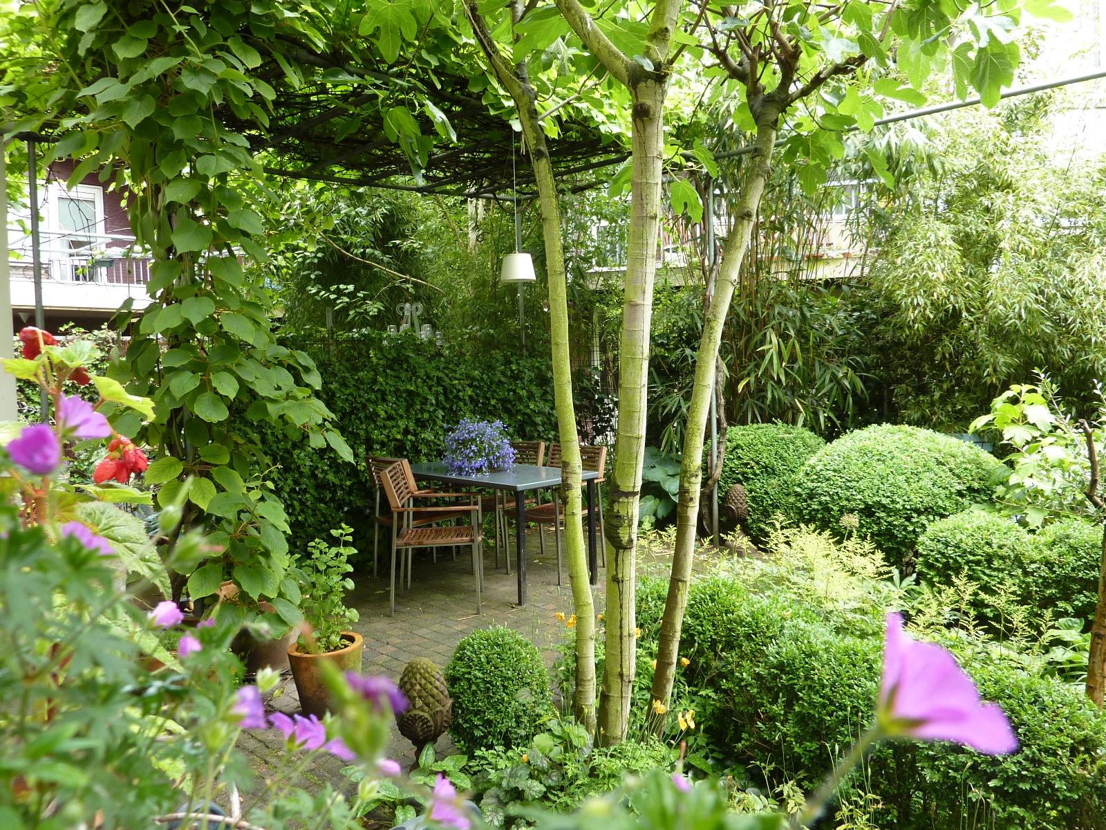 Verborgen tuinen in de straat graaf florisstraat de for Rob eigen huis en tuin