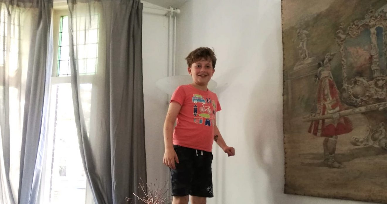 Kids in the street: Maurits