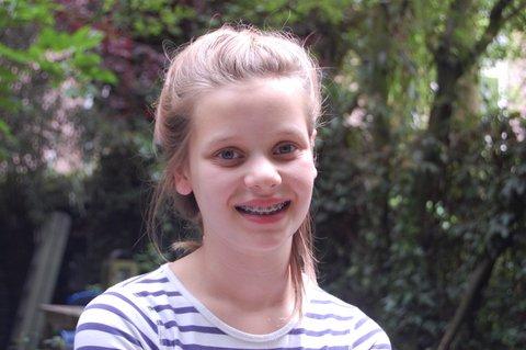 Kids in the street: Olivia Meijer