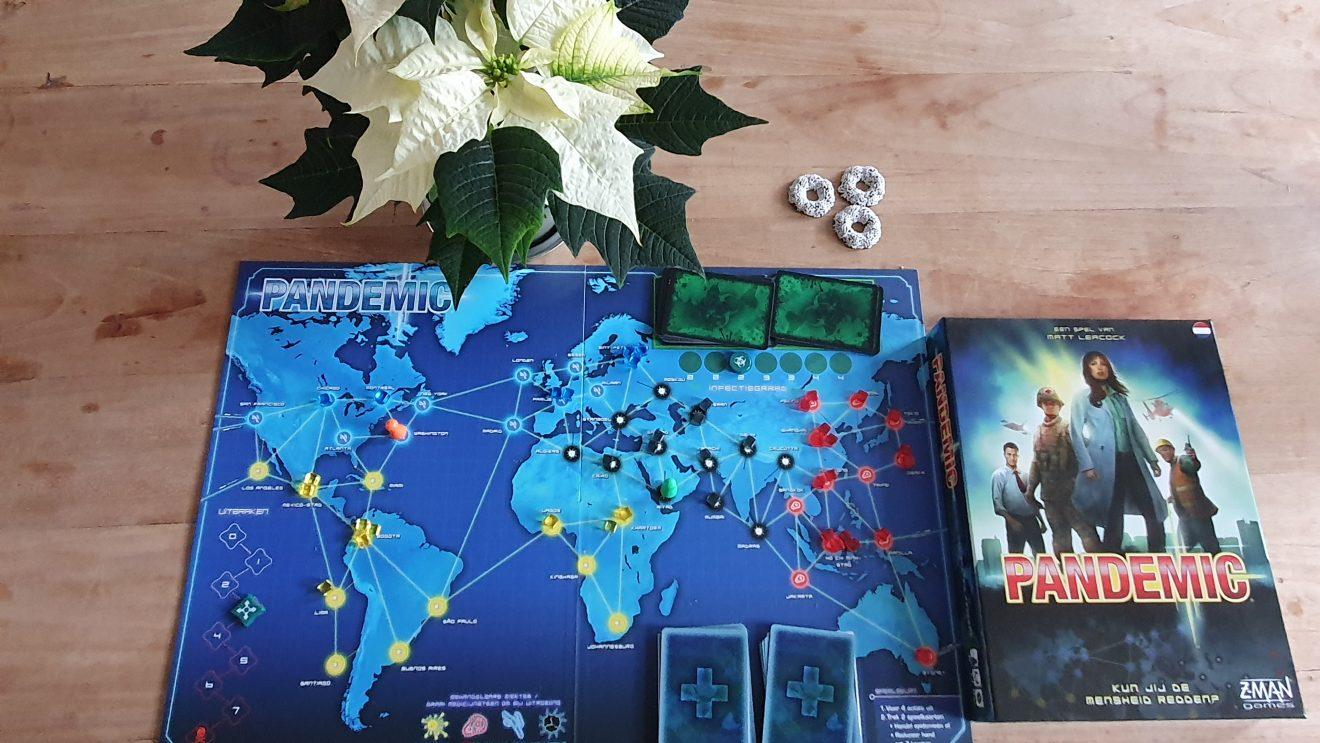 Marjan's Kersttip: Pandemic spelen
