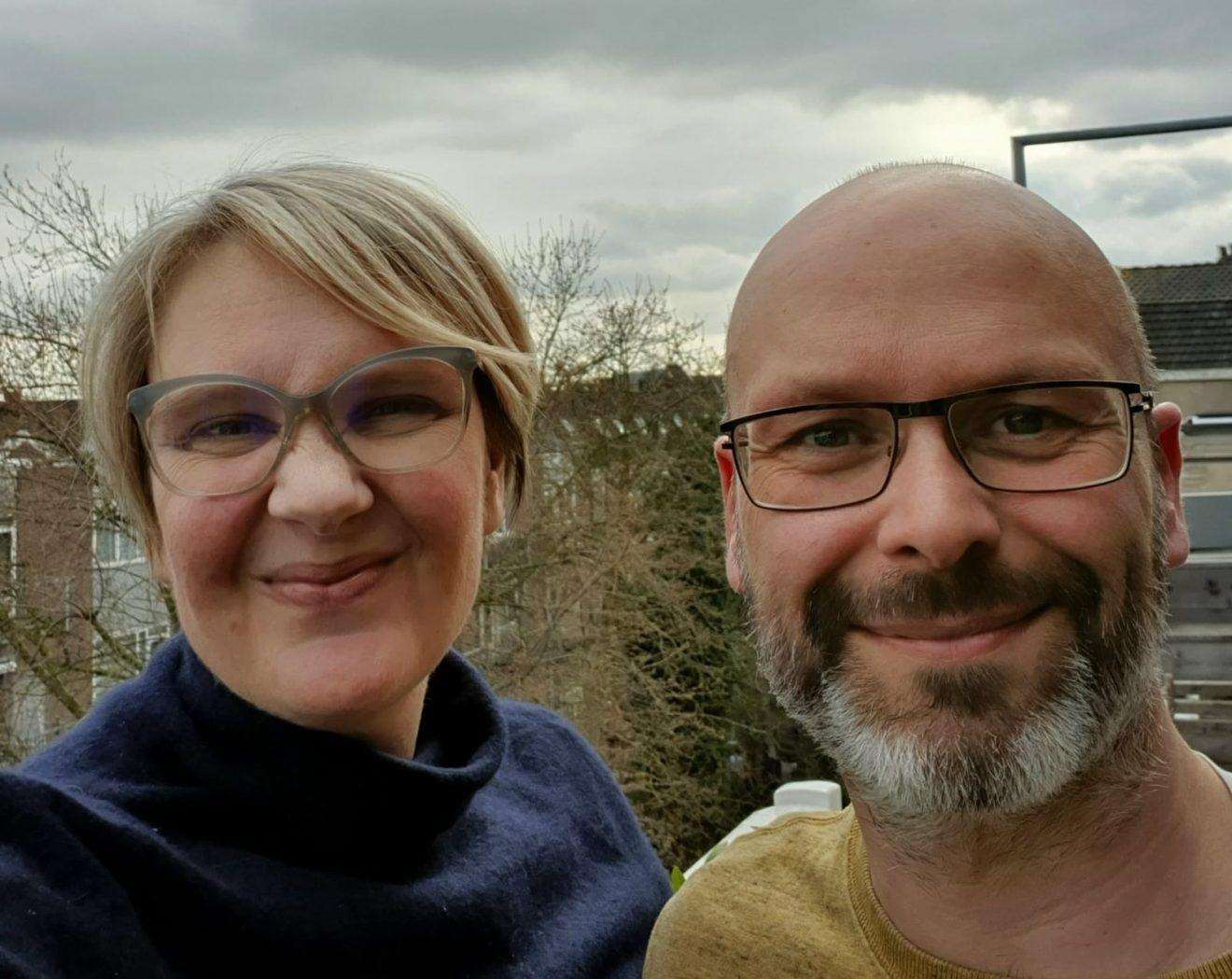 Nieuwe buren: Johan en Rikke op 92B