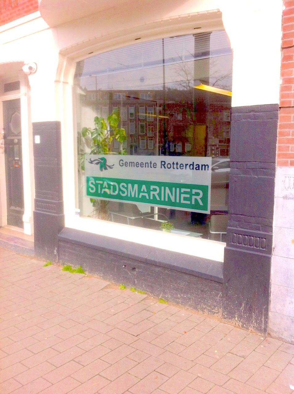 De buurtverbeteraar: stadsmarinier Marcel van de Ven